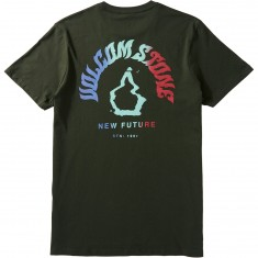 Volcom Stone Future T-Shirt - Dark Green