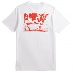 Volcom X Burger Records Wanna Be T-Shirt - White