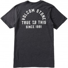 Volcom Stone Co T-Shirt - Heather Black