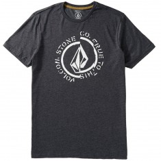 Volcom Divide T-Shirt - Heather Black