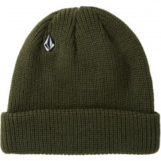 Volcom Full Stone Beanie - Dark Green