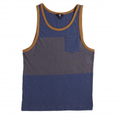 Volcom Threezy Tank Top - Deep Blue
