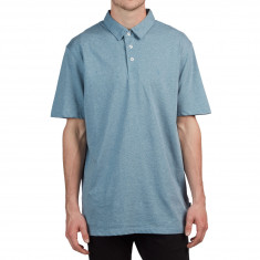 Volcom Wowzer Polo Shirt - Wrecked Indigo