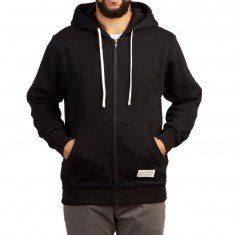 Fairplay Zip Up Hoodie - Black