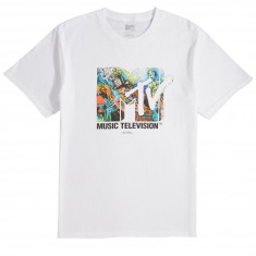 Fairplay x MTV Mad Hatter T-Shirt - White