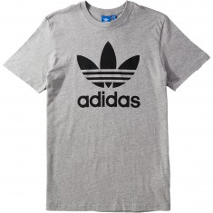 Adidas Original Trefoil T-Shirt - Grey/Heather