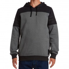 Adidas Elevated Hoodie - Black/Black Melange