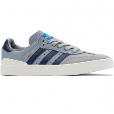 Adidas Busenitz Vulc Samba Edition Shoes - Light Onix/Navy/Bluebird