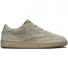 Reebok Club C 85 SG Shoes - Sand Stone/White/Gum