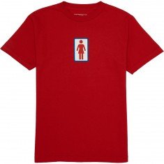Girl Classic OG T-Shirt - Red