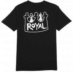 Royal X Castle T-Shirt - Black