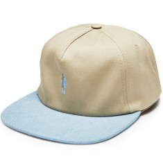 Girl Micro OG Hat - Khaki /Denim