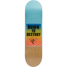 Chocolate Signs of the Times Berle Skateboard Deck - 8.00""