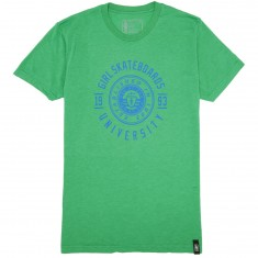 Girl University T-Shirt - Envy Green