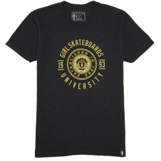 Girl University T-Shirt - Vintage Black