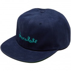 Chocolate Chunk Strapback Hat - Deep Blue