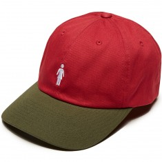 Girl Micro OG Strapback Hat - Red/Green