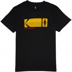 Girl X Kodak Heritage T-Shirt - Black