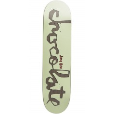 Chocolate Original Chunk Skateboard Deck - Hsu - 7.625""