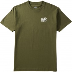 Royal Mini Script T-Shirt - MIlitary