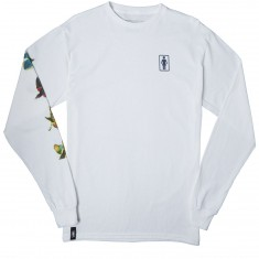 Girl Sanctuary Longsleeve T-Shirt - White