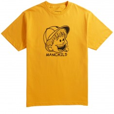 Girl Manchild T-Shirt - Gold