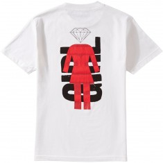 Girl X Diamond SMU T-Shirt - White