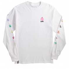 Girl Coco Longsleeve T-Shirt - White