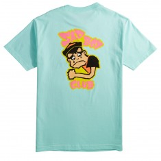 Girl Sad Boy T-Shirt - Celadon