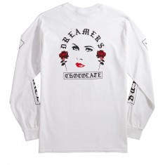 Chocolate Dream Of Longsleeve T-Shirt - White