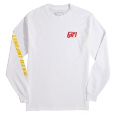 Girl Formula Long Sleeve T-Shirt - White