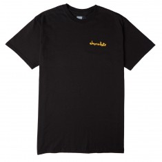 Chocolate Mini Chunk Standard T-Shirt - Black w/ Orange Logo