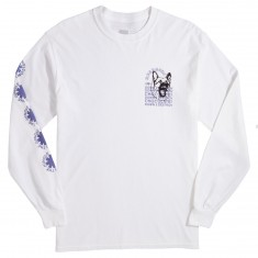 Chocolate Darkside Welcome Longsleeve T-Shirt - White