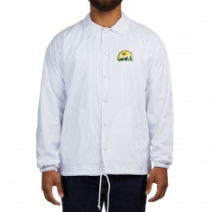 Royal Seattle Coaches Jacket - White