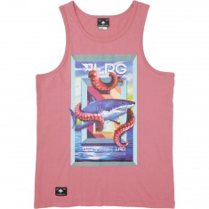 LRG Safe Waters Tank Top - Heather Rose