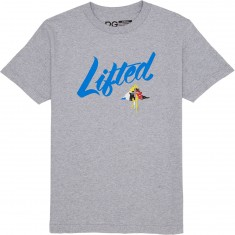 LRG Lifted Script T-Shirt - Ash Heather