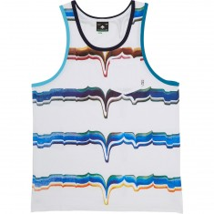 LRG Brushstroke Tank Top - White