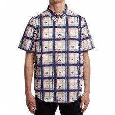 LRG Brushless Plaid Shirt - White