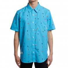 LRG Prizm Break Shirt - Pool Blue