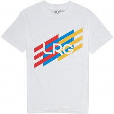 LRG Ascending Stripes T-Shirt - White