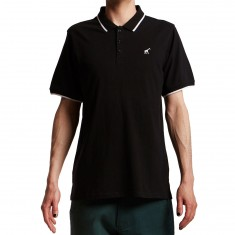 LRG Jiggy Type Polo Shirt - Black