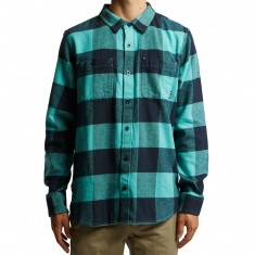 LRG Ill Son Longsleeve Flannel Shirt - Nile Blue