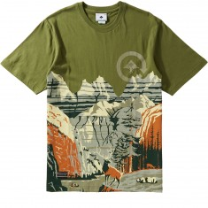 LRG Scenic Knit T-Shirt - Olive