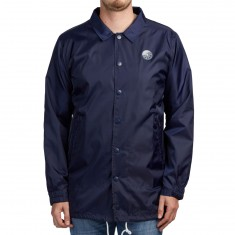 LRG Surfside Coach Trench Jacket - Patriot Blue