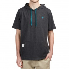 LRG Trek Shortsleeve Hoodie - Black Heather