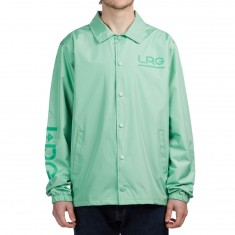 LRG Lifted Research Coaches Jacket - Neptune Green