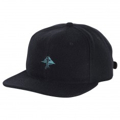LRG Home Team Strapback Hat - Black