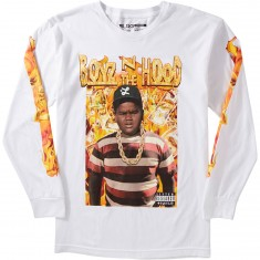 LRG X Boyz N The Hood Dough Boy Longsleeve T-Shirt - White