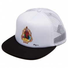LRG Say What Trucker Hat - Black