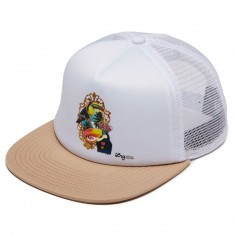 LRG Say What Trucker Hat - Khaki